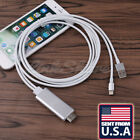 TX HDMI /HDTV Cable AV Adapter Lightning For iPhone 6 6S 7 Plus iPad Mini 2 3