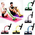 JQ_ Fitness Elastic Sit Up Pull Rope Abdominal Exerciser Equipment Sport New H image