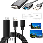 USB To HDMI Digital AV Adapter Plug and Play HDTV Smart Cable for iPhone 7 8 X