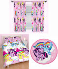 my little pony duvet cover - My Little Pony Equestria Kids Double Duvet Quilt Cover Curtains Rug 3 Choices