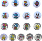15mm Novelty Picture Buttons for Children