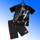 Boys Authentic 2018 Star Wars Darth Vader Shortie Pyjamas Age 7-16 Years