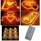 24 PCS remote Flameless Votive Candles Battery Operated LED Tea Light