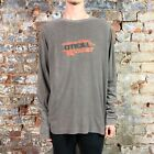 O'neill Liberty Casual Long Sleeve T-Shirt New - Grey - Size: M,L