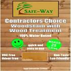CONTRACTORS CHOICE EXTERIOR WOODSTAIN -WITH- WOOD TREATMENT 25LITRES TRADE STAIN