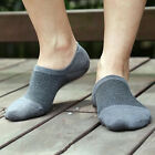 10Pairs Men/Women Bamboo Ankle Invisible Loafer Boat Liner Low Cut Show Socks US