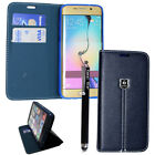 LEATHER WALLET PHONE CASE COVER FOR SAMSUNG GALAXY S3/S3 MINI,S4,S5,S8,S9,S9+ <br/> FREE UK POST ,UK SELLER