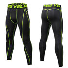 Men's Compression Tops Long Pants Workout Athletic Base Layers Moisture wicking