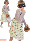 Girls Burglar Gangsta Granny Costume Gangster World Book Day Fancy Dress Kids