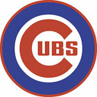 Chicago Cubs Circle Logo Vinyl Decal / Sticker 5 Sizes!!!