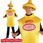 American Food Adults Fancy Dress Dinner Ketchup Mustard Hot Dog Costumes