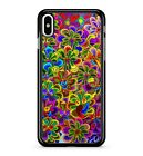 Trippy Colourful Flower Art Shimmery Visual Radiant Vivid 2D Phone Case Cover