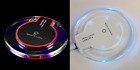 New Qi Wireless Fast Charger Clear Charging Pad for iPhone & Samsung,Moto Phones