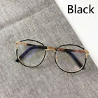 New Women Round Frame Glasses Fashion Metal Eyeglasses Unisex Clear Lens Eyewear