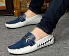 Mens Flats  Slip On Loafers leather comfort  Moccasins Driving shoes comfort