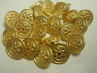 New lots of Italian Gold Metal Buttons sizes 5/8, 7/16 & Blazer suit sets #G3