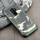 Armor Army Camo Camouflage Anti-knock Cover Case For Samsung Galaxy S9 S9+ Plus