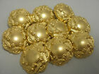 New lots of Italian Fancy Gold metal buttons sizes  13/16, 11/16, 5/8  #G19