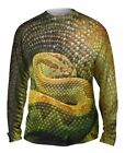 Yizzam- Watchful Rattle Snake - New Mens Long Sleeve Tee Shirt XS S M L XL 2XL