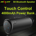 ZEALOT S8 3D Stereo HiFi Speaker Wireless Bluetooth Touch Control Strong Bass