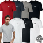 Nike Mens T-Shirt Gym Cotton Sports Crew Jog Jogging Casual Size S M L XL - 2017