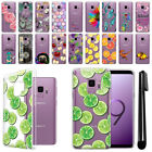 "For Samsung Galaxy S9 5.8"" Ultra Thin Clear Soft Silicone TPU Case Cover + Pen"