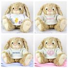 PERSONALISED EASTER BUNNY TOY Babys First 1st Easter Gift Idea Childrens Present