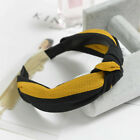 Womens Headband Twist Hairband Bow Knot Cross Tie Velvet Headwrap Hair Band Hoop