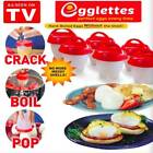 Egglettes Egg Cooker Hard Boiled Eggs without the Shell -  As Seen On TV