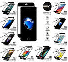 Black Edged Cell Phone FULL Coverage Screen Tempered Glass Protector Guard