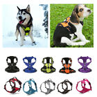 Adjustable Dog Harness 3M Reflective Pet Vest with Handle Tow Leash Attachement