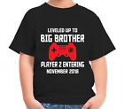 Best Big Brother Tshirt Kids - PERSONALISED LEVELED UP TO BIG BROTHER T-SHIRT CHILDRENS Review