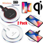 2Pack Qi Wireless Lustful Charger Pad For Samsung Galaxy Note 8 S8 S9 S7 iPhone X 8