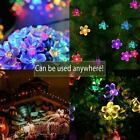 Solar Powered Garden Fairy String Lights 50 LED Flower Decor Lamp Waterproof UK