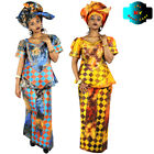 African Dresses For Women Dashiki Design Bazin Riche Embroidery African Fashion