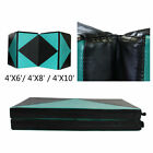 6ft/8ft/10ft Gymnastic Mat Tumbling Exercise Mat Gym Sport Fold Yoga Aerobic Pad image