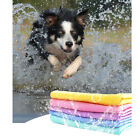 Ultra-Absorbent Pet Puppy Bath Towel Dog Supplies Grooming Shampooing Washing
