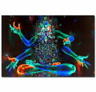 58713 Psychedelic Trippy Visual Mind Painting God Decor Wall Print Poster