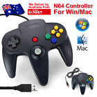 NEW NINTENDO 64 N64 GAMES CLASSIC GAMEPAD CONTROLLERS FOR USB TO PC/MAC