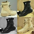 US Forced Entry Leather Tactical Deployment Boot Military SWAT Boots Duty Work