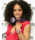 """12""""-22"""" Afro Curly 100% Brazilian Remy Human Hair Lace wigs Full/Front lace wigs"""