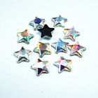 500pcs SS27 6.0MM Crystal Hotfix Glass Rhinestones Pentagram Beads Flatback