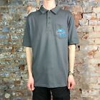 Atticus Eli Casual Tee Short Sleeve T-Shirt Polo Charcoal in size M