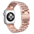 CA For Apple Watch iWatch Stainless Steel Band Link Bracelet Strap 38mm/42mm