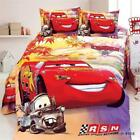 Mcqueen Bedding Set Child Cars Lightning Cartoon Bed Print Car Kids Twin Single