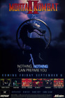 Mortal Kombat 2 Nothing Can Prepare You Ad Poster - II T16
