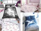 'Unicorn Horse Reversible Duvet Quilt Cover Bedding Set With Pillowcases All Size