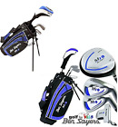 "2018 BEN SAYERS M1 JUNIOR SET WITH BAG. 5-8 or 9-11 YEARS RIGHT HAND ""NEW"" BLUE"