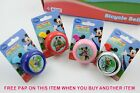 MICKEY MOUSE CLUB HOUSE KIDDIES BIKE BELLS PINK BLUE OR CHROME CYCLE BELL