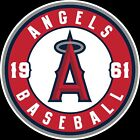 Los Angeles Angels of Anaheim Circle LOGO Vinyl Decal / Sticker 5 Sizes!!! on Ebay